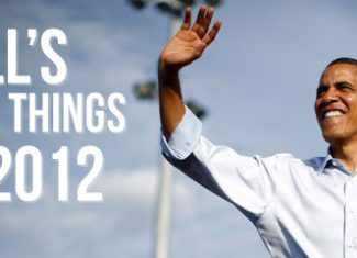 Jill's Top 12 Things of 2012