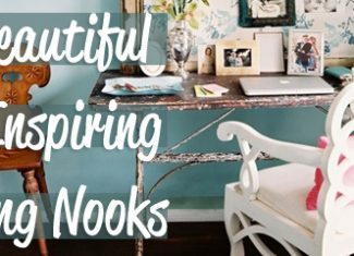 15 Beautiful & Inspiring Writing Nooks