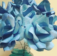 Wedding DIY: Paper Rose Bouquets