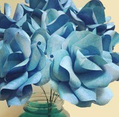 Wedding DIY: Paper Rose Bouquets