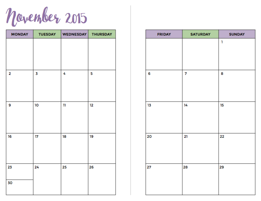 Nov2015-Calendar2Pages
