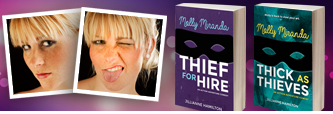 Writer Website / Molly Miranda: Thief for Hire