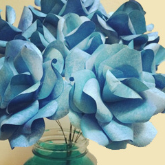 wedding-diy-paper-rose-bouquets