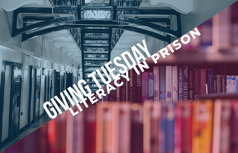 Giving Tuesday: Literacy in Prison