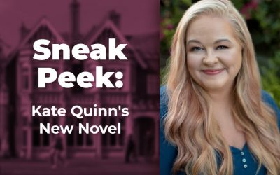 Sneak Peek: Kate Quinn's New Novel