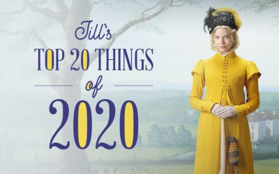 Jill's Top 20 Things of 2020