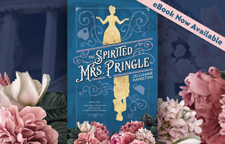 The Spirited Mrs. Pringle is Now Available in Ebook
