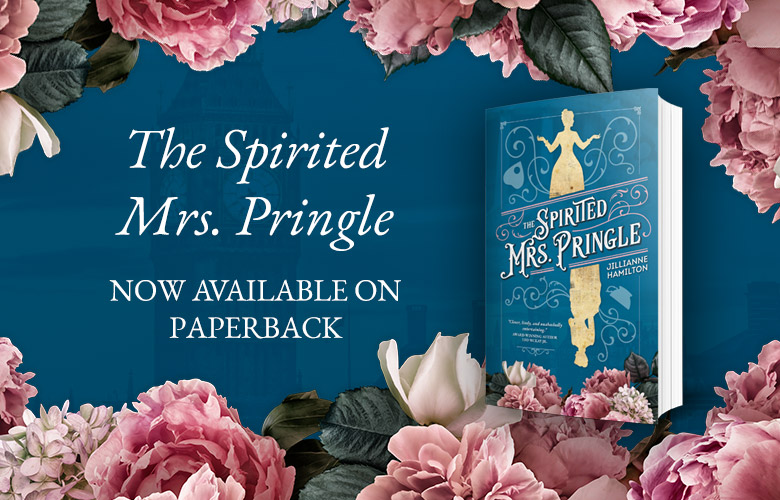 Signed SPIRITED MRS. PRINGLE Paperbacks Available for a Limited Time